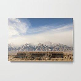 Manzanar Internment Camp, Highway 395, Independence, CA Metal Print