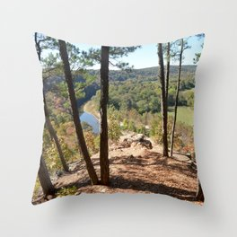 Sparrowhawk Mountain Series, No. 11 Throw Pillow