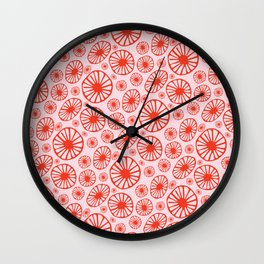 Little Cherry Blossom Wall Clock