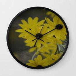 Beauty In Yellow Wall Clock