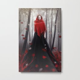 Little Red Riding Hood .. 20 years later Metal Print