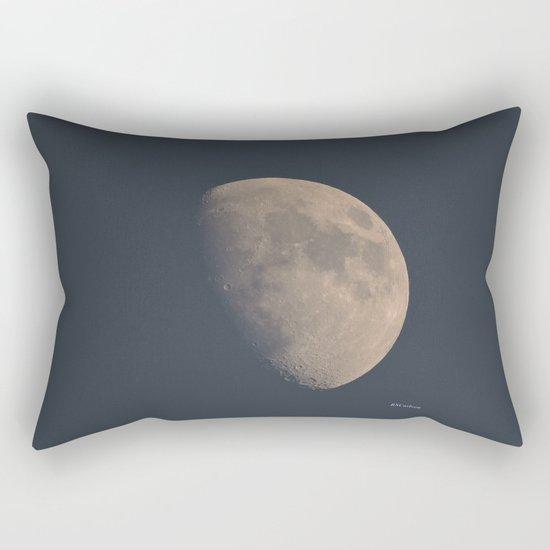 November Half Moon Rectangular Pillow