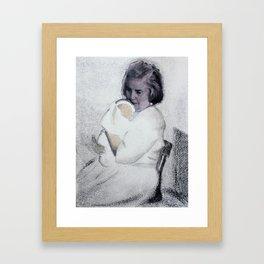 Grandma Jones Framed Art Print