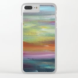 Waking Up Uncertain Where You Are Clear iPhone Case