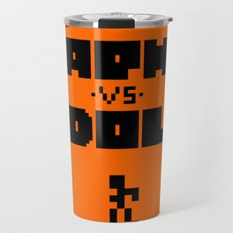 coussin orange Travel Mug