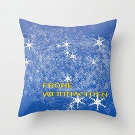 Concept Christmas : Frohe Weihnachten Throw Pillow