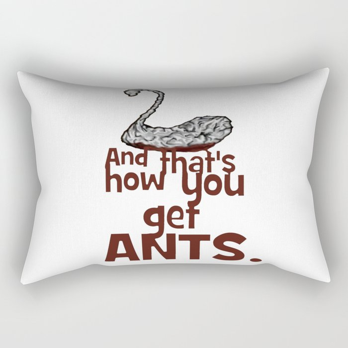 And that's how you get ANTS - Archer Rectangular Pillow