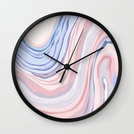 PANTONE SWIRL DESIGN Wall Clock