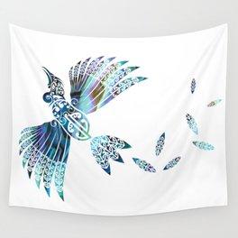 Tui Paua Wall Tapestry