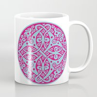 persian Mugs featuring Persian circle by Osgarr