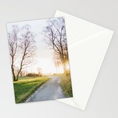 Sunset Norway Stationery Cards