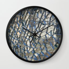 Broken Glass Wall Clock