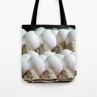 eggs Tote Bags featuring EGGS by Avigur