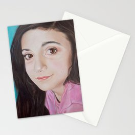 Portrait of Lia Stationery Cards