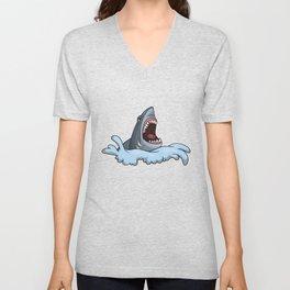 Shark Gift Animal Lover Unisex V-Neck