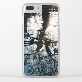 Ripple Walk II Clear iPhone Case