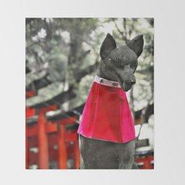 Inari Kami Throw Blanket