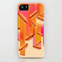 Hot Dogs, Falling from the Sky! iPhone Case