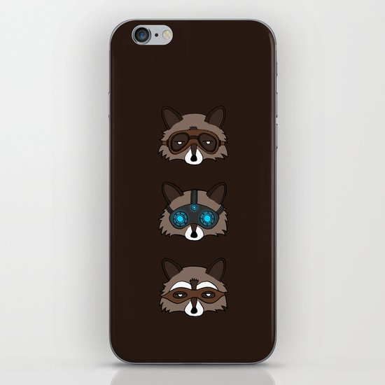 Raccoons iPhone & iPod Skin
