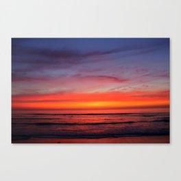 Scripps Pier - Sunset Canvas Print