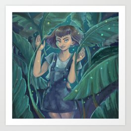 Jungle Lights Art Print