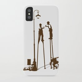 Higher level of sobriety iPhone Case