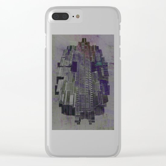 Urban Bubble into Space / 25-08-16 Clear iPhone Case