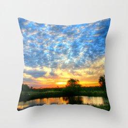 November East Texas Sunrise Throw Pillow