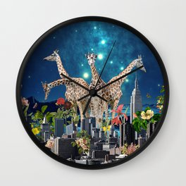 TOMORROWLAND Wall Clock