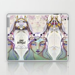Dear Deer by Jane Davenport Laptop & iPad Skin