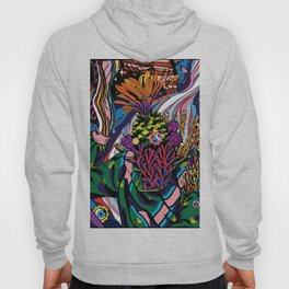 plant breaking out into space Hoody