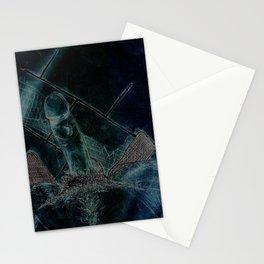 Meias pretas (negativo) Stationery Cards