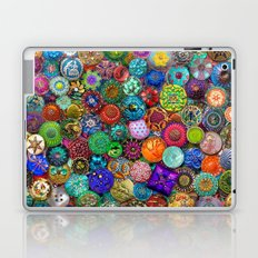 Glass Buttons Laptop & iPad Skin