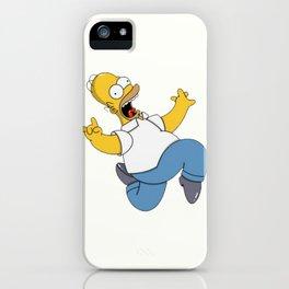 Crazy Homer Simpson iPhone Case