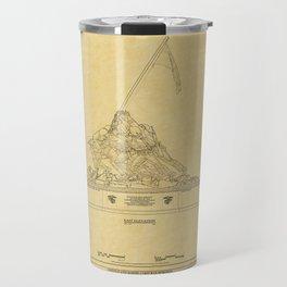 Marine Corps Memorial Travel Mug