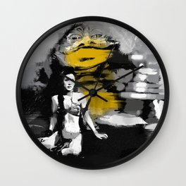Leia and Jabba Wall Clock