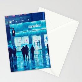 Tokyo Nights / Rain / Liam Wong Stationery Cards