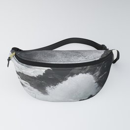 Waves Crashing on the Coast Fanny Pack