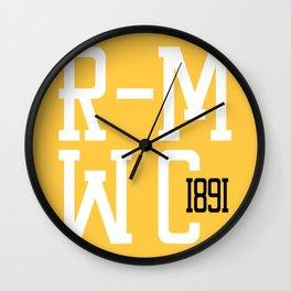 R-MWC (yellow 2) Wall Clock