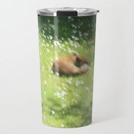 Sleeping Fox Travel Mug