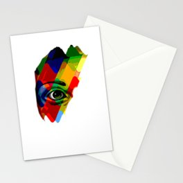 eye posterize Stationery Cards