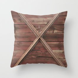 Marks the spot Throw Pillow