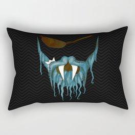 The tentacle beard Rectangular Pillow