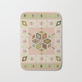 Baby Hexagon Quilt Bath Mat