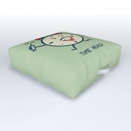 Time heals Outdoor Floor Cushion