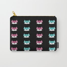 Neon Foxes Carry-All Pouch