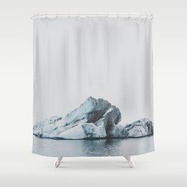 Jökulsárlón, Iceland Shower Curtain