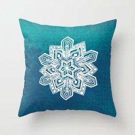 Snowflake I Throw Pillow