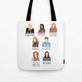 Doctor Who | Companions (alternate version) Tote Bag