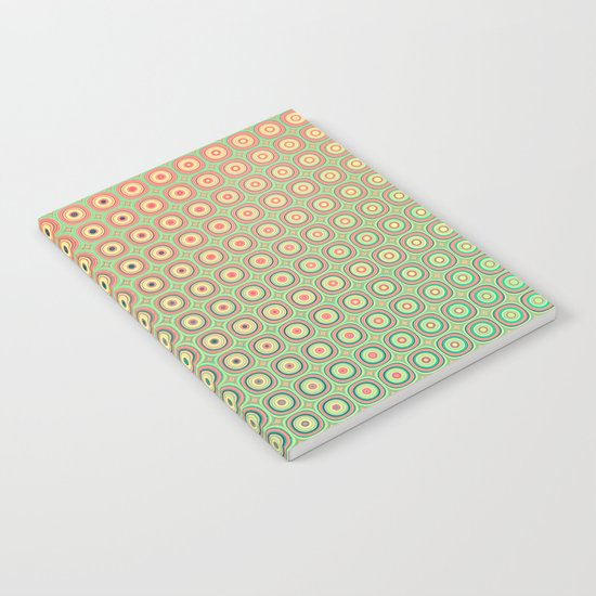 Shiny buttons retro pattern Notebook